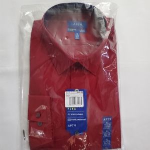 🎁NWT Red Men's Dress Shirt